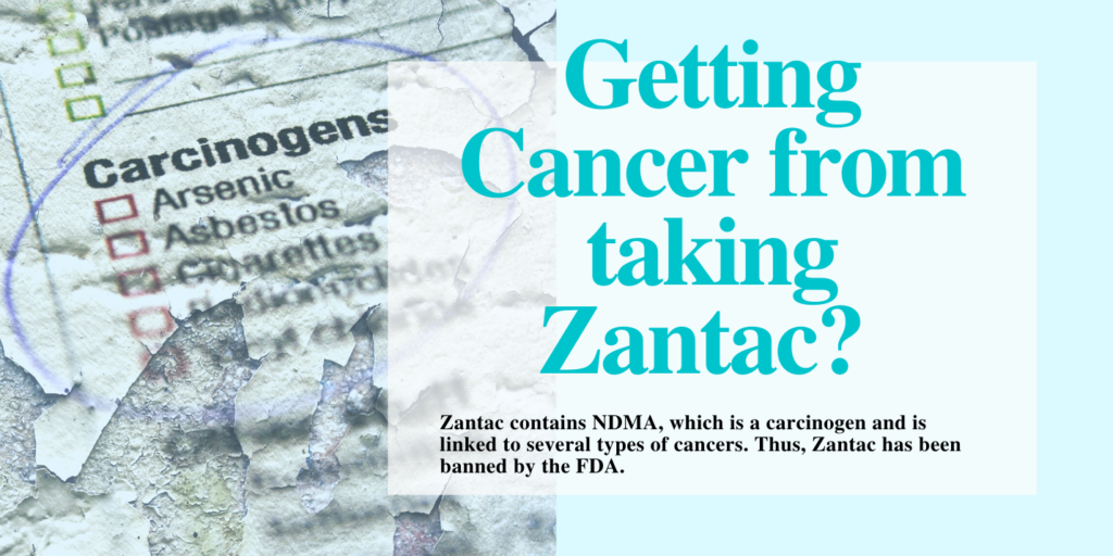 Why have People been Getting Cancer from taking Zantac? 1