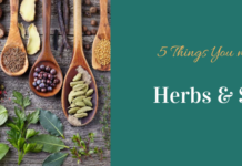 benefits herbs spices