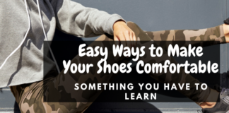 comfortable shoes making