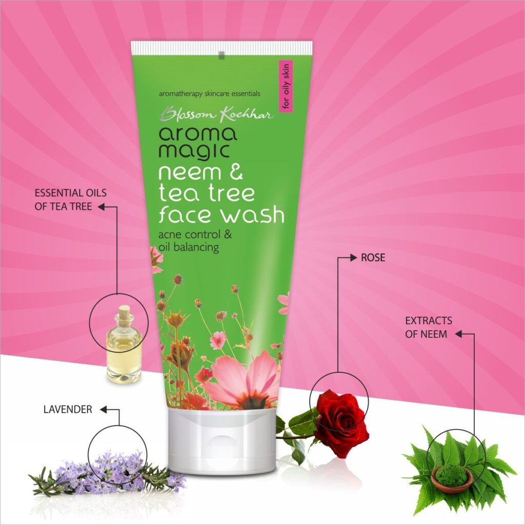 Neem and Tea Tree Face Wash - Best Organic Face Wash for Indian women