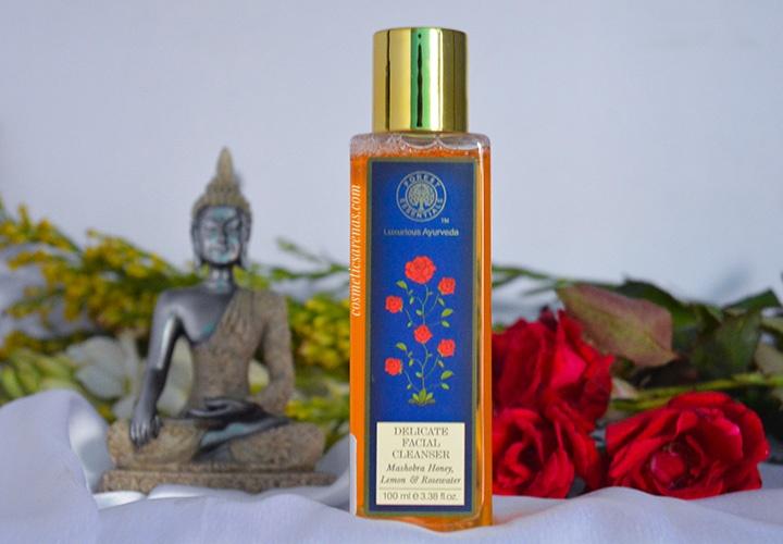 forest essentials mashobra honey lemon and rosewater face-wash - best organic face wash