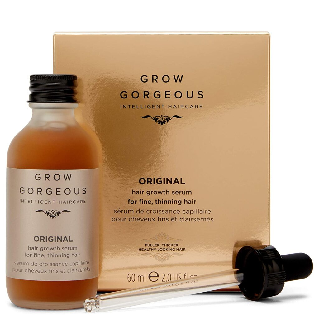 Grow Gorgeous Daily Growth Serum - photo of Daily Serum Product Bottle, cap and box