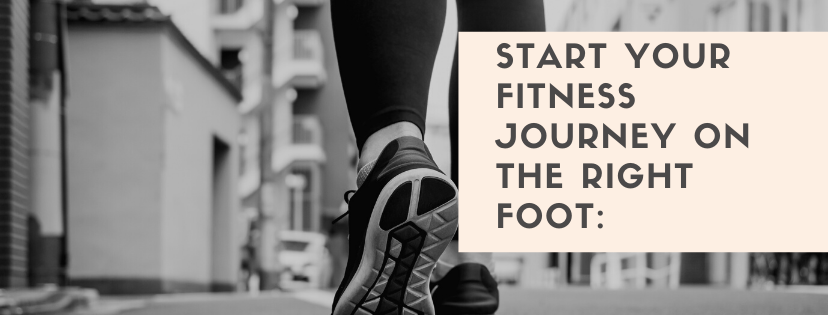 Fitness journey on the right foot