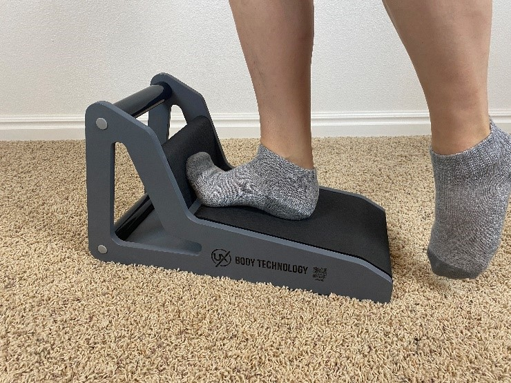 Standing Stretch of the Plantar Fascia - Treatment to Quickly Heal Plantar Fasciitis
