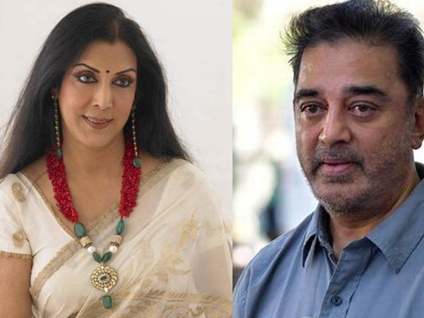 Kamal Hassan and his first wife, Vaani Ganapathy - south indian celebrities who got divorced