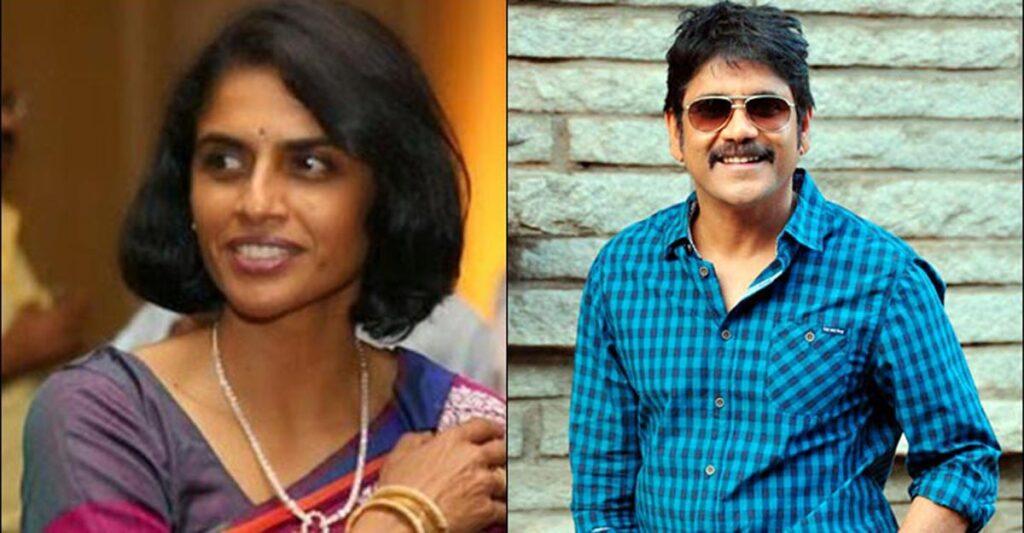 Akkineni Nagarjuna's  with Lakshmi Daggubati - South Indian celebrities who got divorced