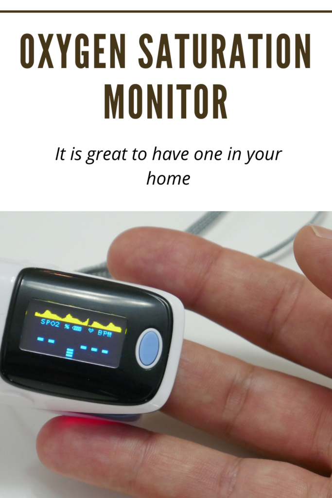 Oxygen Saturation Monitor - Buy Oximeter for your family